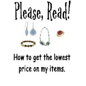 Jewelry - Super Simple Rules To Receive My Lowest Price